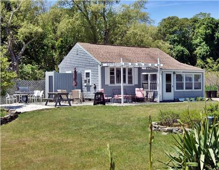 Eastham Cape Cod vacation rental - Outside sitting area, grill, outside shower