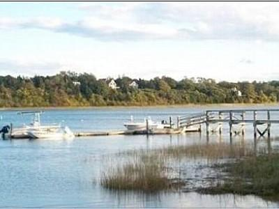 Eastham - Ocean Side minutes f Cape Cod vacation rental - Our Dock on Town Cove