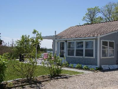 Eastham - Ocean Side minutes f Cape Cod vacation rental - Privacy of outside area - alternate house angle
