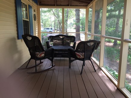 South Dennis Cape Cod vacation rental - Enjoy Cape breezes on the porch