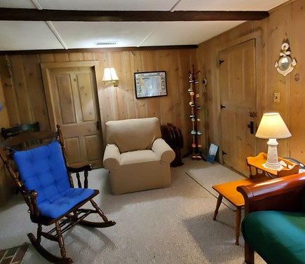 South Dennis Cape Cod vacation rental - Comfortable Living Room