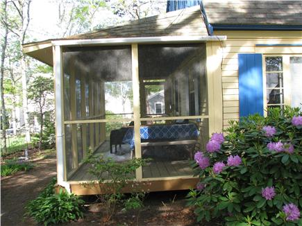 South Dennis Cape Cod vacation rental - Screened in Porch