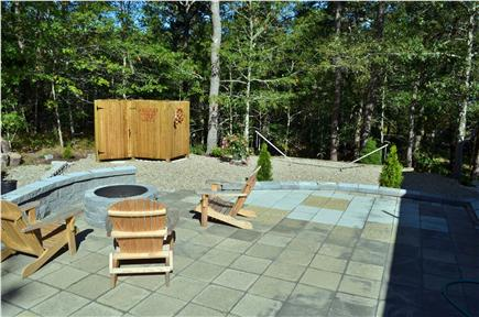 Dennis Cape Cod vacation rental - Fire pit + new shower.
