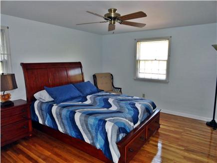 Dennis Cape Cod vacation rental - Master bed has a private 1/2 bath