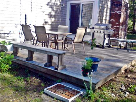 Sandwich, Forestdale Cape Cod vacation rental - Barbeque on the deck