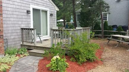 West Dennis Cape Cod vacation rental - Deck