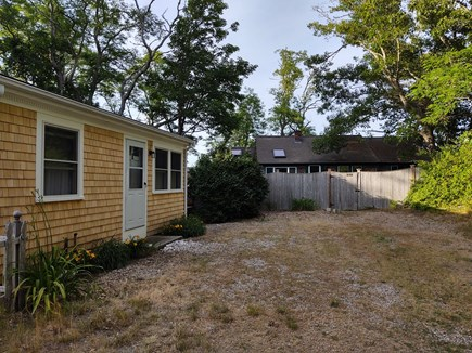 Wellfleet Cape Cod vacation rental - We're at the end of a driveway shared by 2 other cottages.