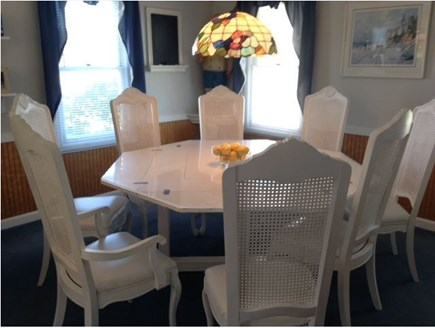 West Yarmouth Cape Cod vacation rental - Dining Room 8 Chairs