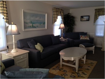 West Yarmouth Cape Cod vacation rental - Living Room with Queen Sleeper Sofa and Twin Loveseat Sleeper