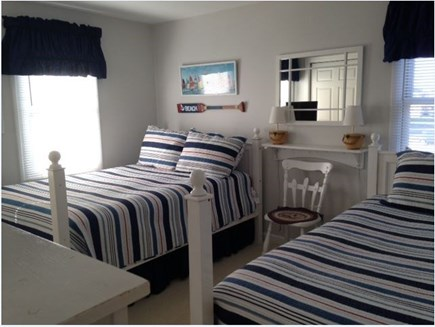 West Yarmouth Cape Cod vacation rental - Nautical Bedroom 1 Full and 1 Twin Bed
