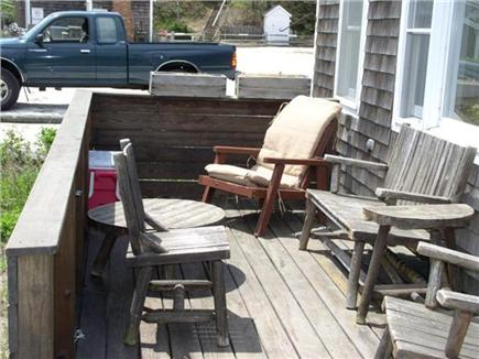Wellfleet Cape Cod vacation rental - Deck for relaxing