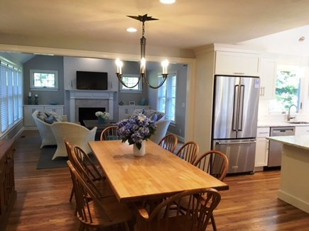 Brewster Cape Cod vacation rental - Open Concept dining, kitchen and second living area