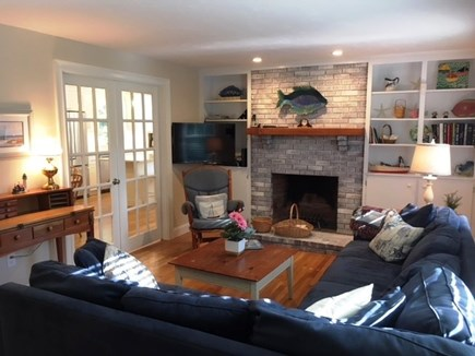 Brewster Cape Cod vacation rental - One of two living areas
