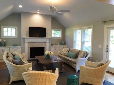 Brewster Cape Cod vacation rental - Bright second living area