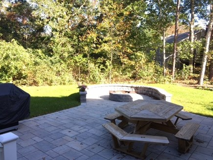 Brewster Cape Cod vacation rental - Patio area with grill and outdoor seating