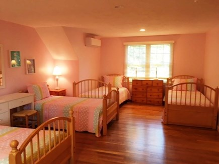 Brewster Cape Cod vacation rental - Bedroom Three with 4 twins