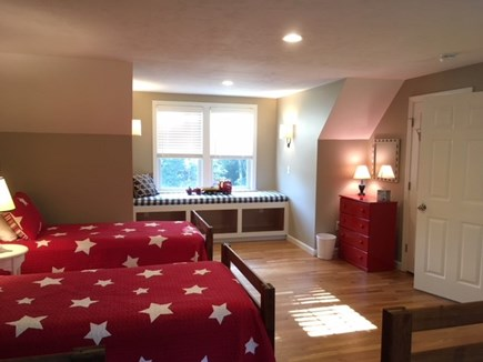 Brewster Cape Cod vacation rental - Bedroom Four with 4 twins