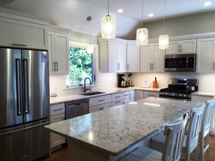 Brewster Cape Cod vacation rental - Updated fully equipped kitchen