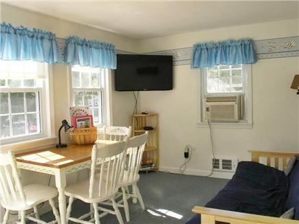 Dennis Port Cape Cod vacation rental - TV and Dining Area