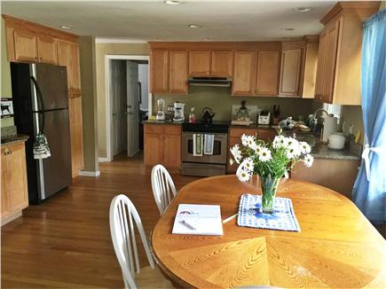 East Falmouth Cape Cod vacation rental - Nice sized kitchen with eating area