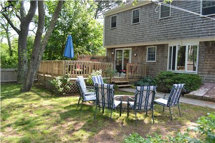 Eastham Cape Cod vacation rental - Outdoor seating for family BBQs and Clambakes