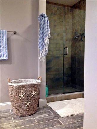 Seconsett Island, Mashpee Cape Cod vacation rental - Master Bathroom
