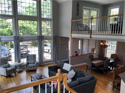 Seconsett Island, Mashpee Cape Cod vacation rental - View from Staircase 1