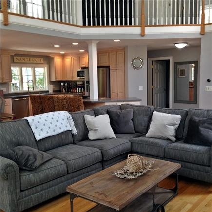 Seconsett Island, Mashpee Cape Cod vacation rental - Family Room