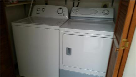 South Harwich Cape Cod vacation rental - Washer and dryer conveniently located on first floor.