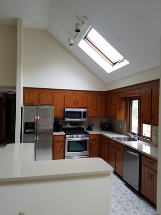 South Harwich Cape Cod vacation rental - New kitchen appliances installed June 2017.