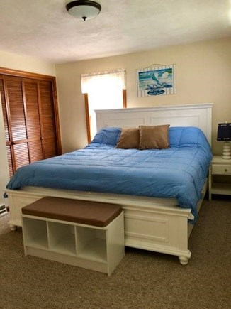 South Harwich Cape Cod vacation rental - Master bedroom with separate full bath.