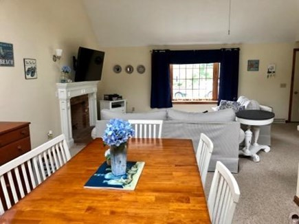 South Harwich Cape Cod vacation rental - Relax in our open dining room.
