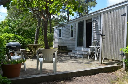 Chatham, Mashpatuxet Village Cape Cod vacation rental - Back patio