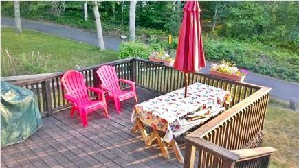 Harwich Cape Cod vacation rental - Deck with gas grill and plenty of seating