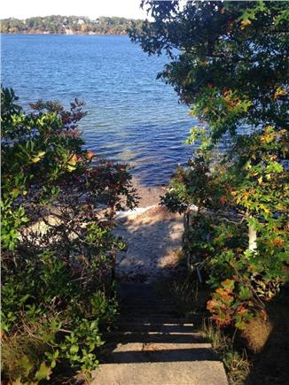 Harwich Cape Cod vacation rental - Daisy Street private beach on Long Pond