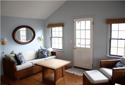 Harwich Cape Cod vacation rental - Watch the boats on Long Pond from the cozy living room