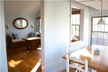 Harwich Cape Cod vacation rental - Afternoon sun in the dining room
