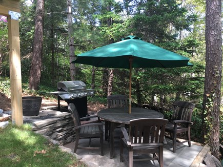 Chatham Cape Cod vacation rental - Patio and BBQ