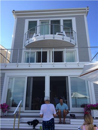 Provincetown Cape Cod vacation rental - Big decks and sliding doors link the interior with the exterior.