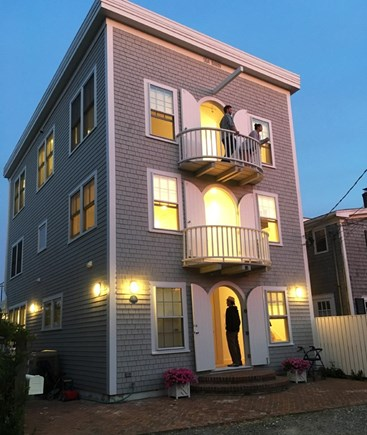 Provincetown Cape Cod vacation rental - View the magnificent sunsets from the decks on Commercial Street.
