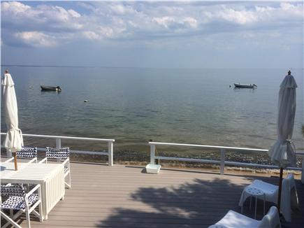 Provincetown Cape Cod vacation rental - Enjoy the serenity of high tide on your own private deck.