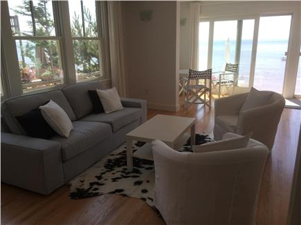 Provincetown Cape Cod vacation rental - A comfortable sofa with side chairs is great for entertaining.