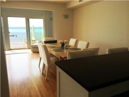 Provincetown Cape Cod vacation rental - Waterfront dining is another amenity of this property.