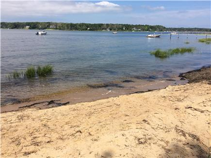 East Orleans Cape Cod vacation rental - Private beach at foot of property