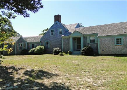 East Orleans Cape Cod vacation rental - Front of house, from driveway – remote and private