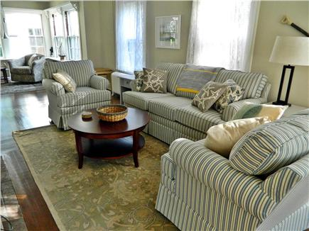 Hyannis Cape Cod vacation rental - Living Room area with the ''Smart'' tv