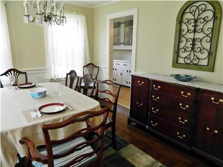 Hyannis Cape Cod vacation rental - Dining room with the Butler's pantry in the background