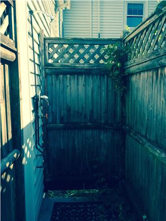 Harwich Cape Cod vacation rental - Outside Shower