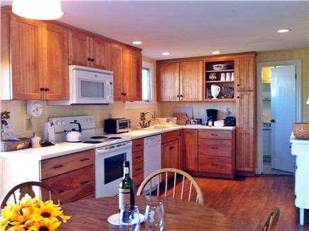 North Eastham Cape Cod vacation rental - The Kitchen has easy to clean new flooring.