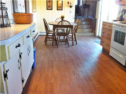 North Eastham Cape Cod vacation rental - The Kitchen has new cabinets and appliances.